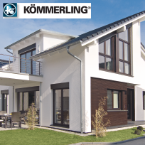 Windows energy efficient PVC KÖMMERLING from POLAND