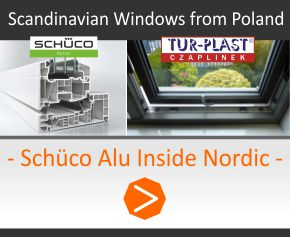 Scandinavian Windows from Poland - Schuco Nordic